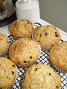 Blueberry Rock Muffins