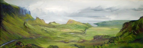 The Quiraing, Skye (WIP1)
