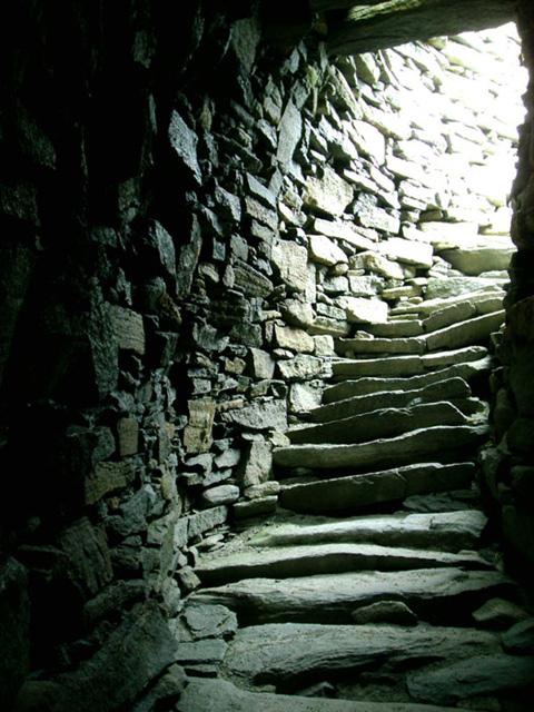 Broch steps (reference photo)
