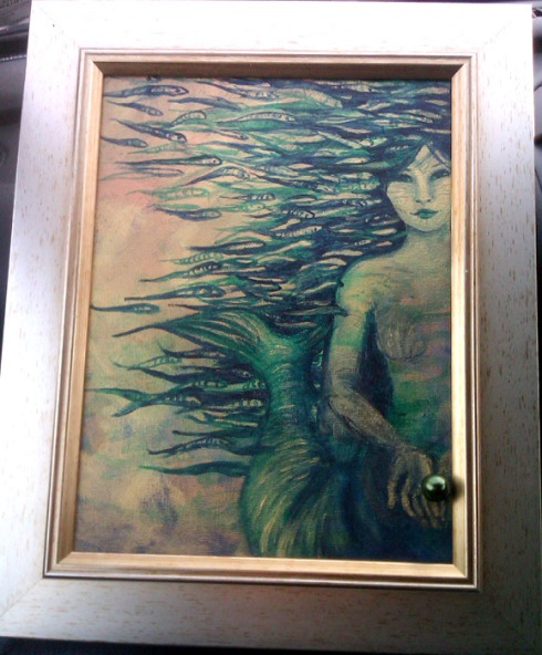 Mermaid (Framed)