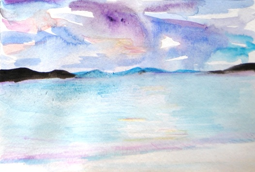 Postcard 4 (Harris Beach)